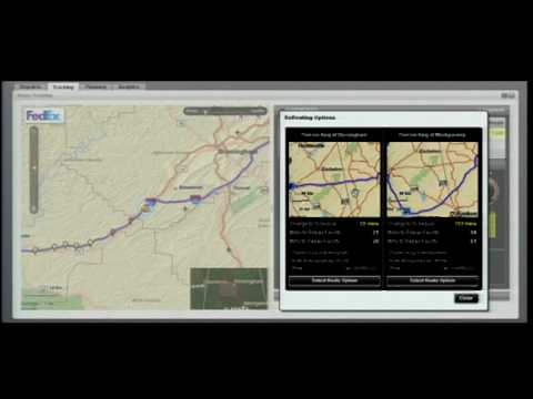FedEx Tracking System Using ESRI Technology