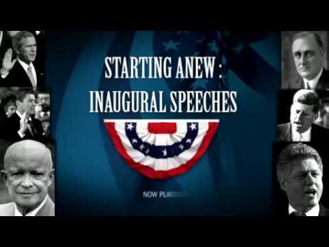Starting Anew: Inaugural Speeches