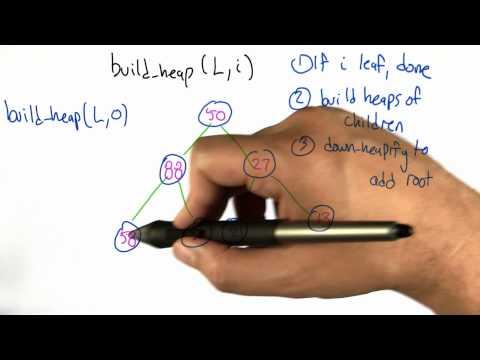 build heap - Algorithms - Statistics - Udacity