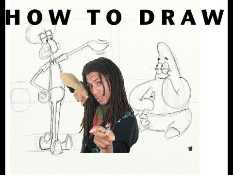 How to Draw!: Patrick and Squidward