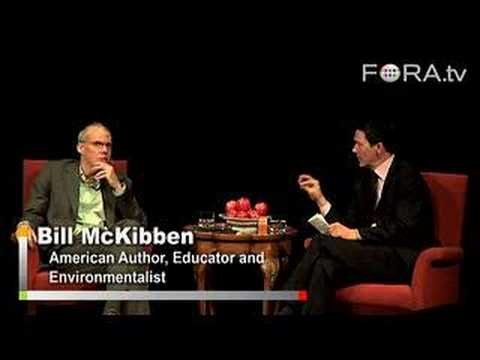 Who's the Best Candidate for Green Issues? - Bill McKibben
