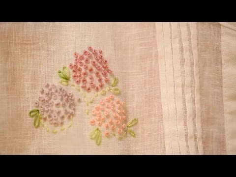 Embroider a French Knot: How to || KIN DIY