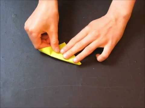 How to fold an Origami Gecko by Michael Anton ~ Part 1