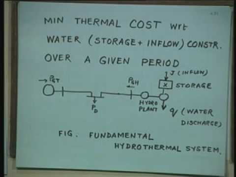 Lecture - 35 Optimal Load Flow (Contd.)