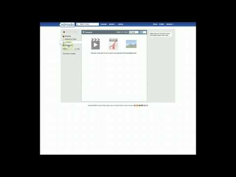 Using the Library and Google Docs feature in Edmodo