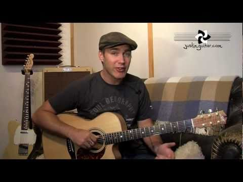 Creating Folk Fingerstyle Patterns (Folk Guitar Lesson FO-103) How to play