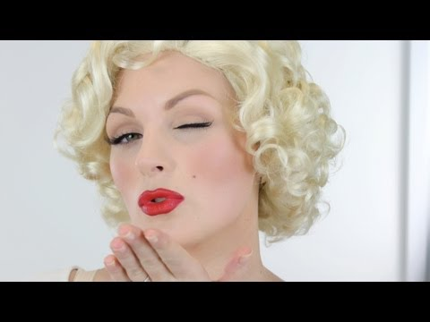 MARILYN MONROE 1950s MAKE-UP TUTORIAL