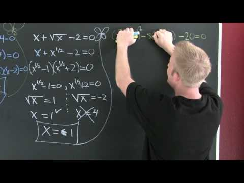 Solving Equations in Quadratic Form.mov