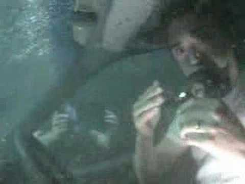 Top Gear - Wild car stunt - part two of Top Gear underwater escape pt 2 - BBC