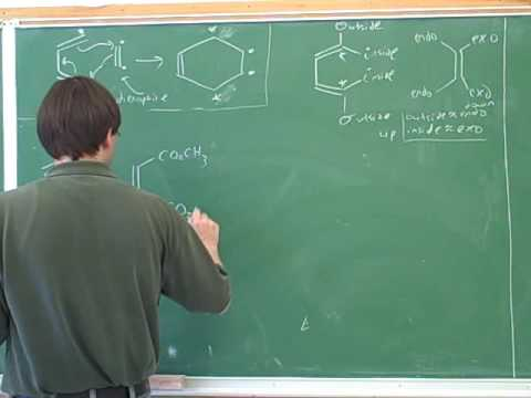 Organic chemistry: Diels-Alder reaction (8)