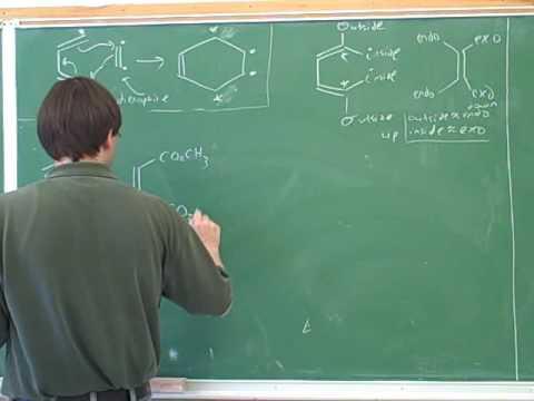 Organic chemistry: Diels-Alder reaction (8)