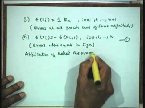 Lec-33 Interpolation and Approximation-Part-9