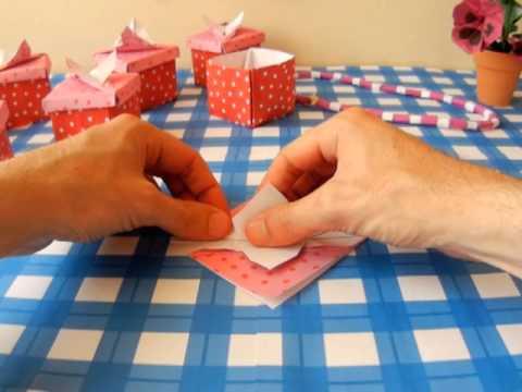 Cute Origami Gift Box