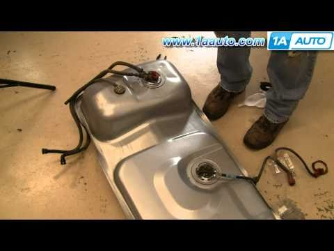How To Install Replace Fuel Gas Tank Ford Mustang Mercury Capri 83-97 Part 2 1AAuto.com