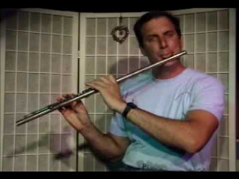 Flute Lesson: How to play a Db Major scale up and down