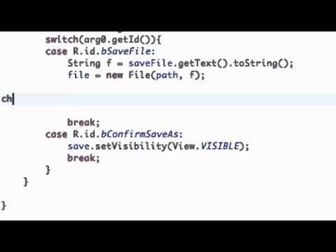 Android Application Development Tutorial - 108 - InputStream and OutputStream