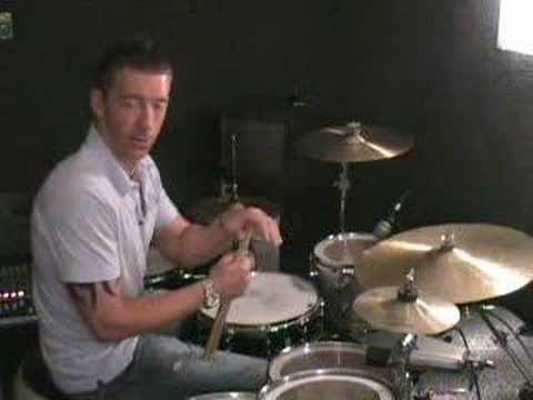 DRUM LESSONS   Paradiddle-diddle around the kit