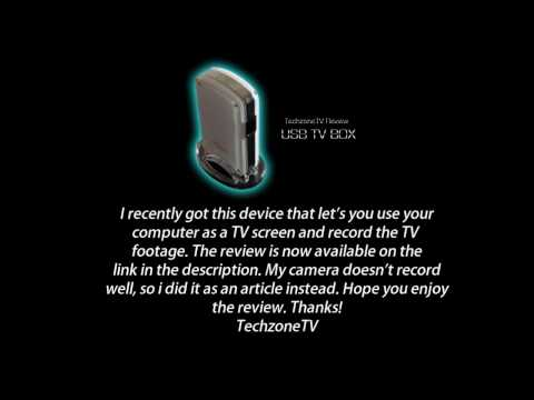 Gadmei UTV332 USB TV Box Review - Record your PS3/TV/Xbox 360 etc!