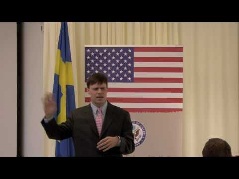 TEDxUSEmbassyStockholm - Dan Mangis - Adult Debate Over Dinner