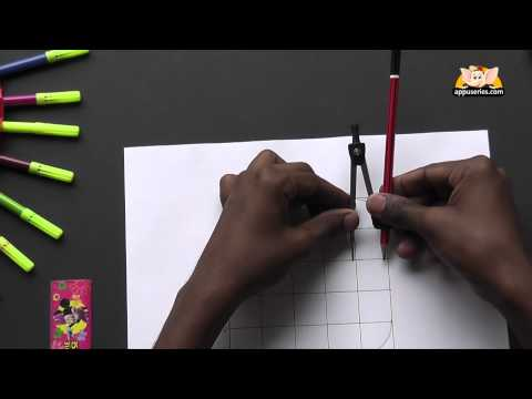 Write Block Style Alphabet 'B'  - Arts & Crafts