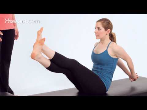 Advanced Pilates Mat Exercises: Boomerang