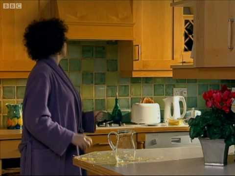 Frightened Woman and the toaster! - Catherine Tate - BBC