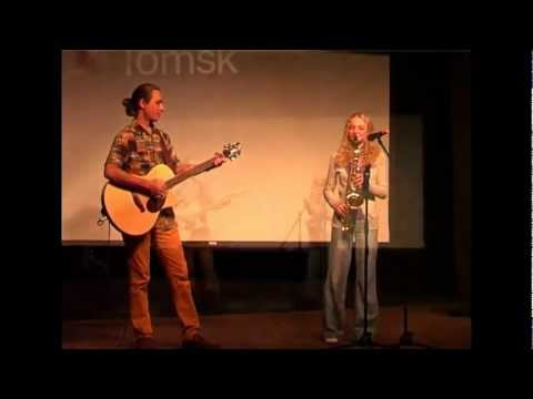 Everything around us is wonderful: Natalya Karagodina and Ilya Solovyev at TEDxTomsk