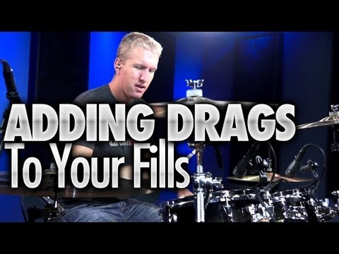 Adding Drags To Your Drum Fills - Drum Lessons