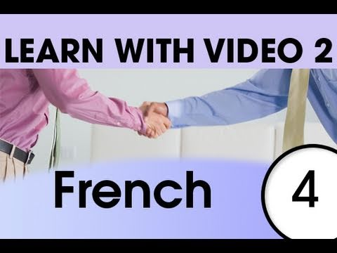 Learn French with Video - Top 20 French Verbs 2