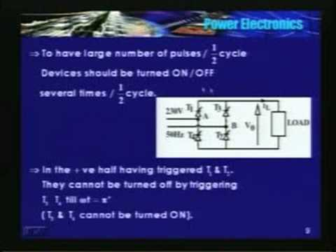 Lecture - 19 Power Electronics