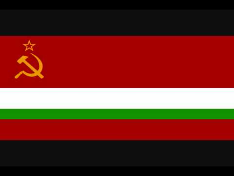 State Anthem of the Tajik SSR (vocal)