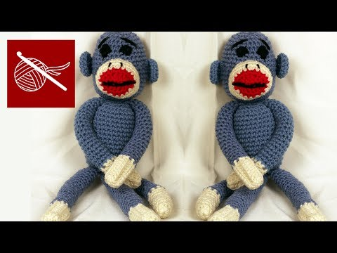 Crochet Geek - How to Make a Crochet Sock Monkey - Amigurumi
