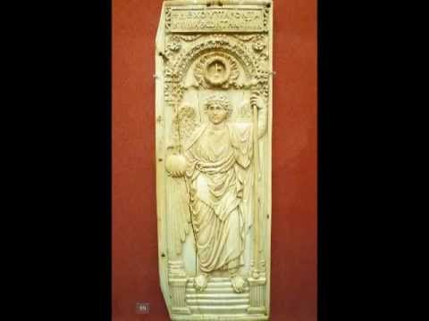 Byzantine Panel with Archangel, c. 525-50