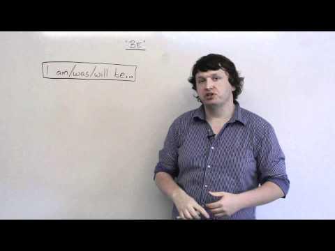 Basic English Grammar - BE verb