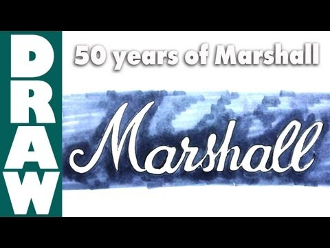 How to draw the Marshall Logo