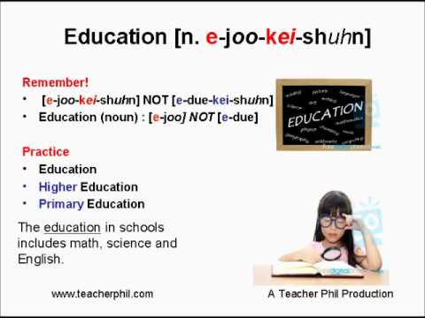 Learning Basic English Lesson 17: Education, Register, Leisure, Procedure