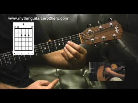 Learn Guitar 3 Chords Guitar Instructions - Learn To Play Acoustic Guitar
