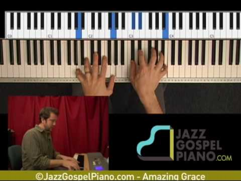 Gospel Piano - Amazing Grace 4