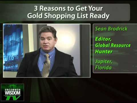 3 Reasons to Get Your Gold Shopping List Ready