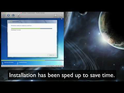 Windows 7 RC1 via Parallels VM
