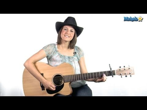 "How to Play ""Born to Fly"" by Sara Evans on Guitar"