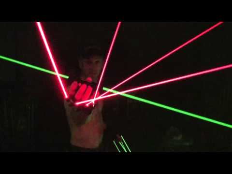 KAM Laser glove and light saber
