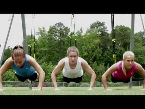 U.S. Women Soccer Stars Train with TRX®