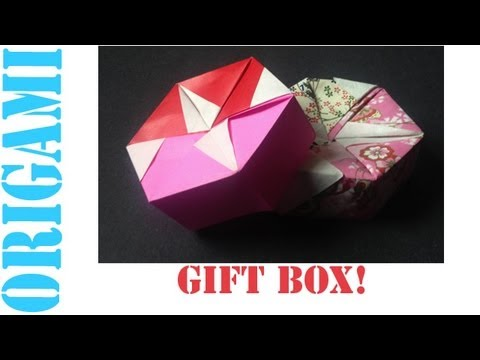 Origami Daily - 318: Two Piece Hexagon Box Lid Ver 1. - TCGames [HD]