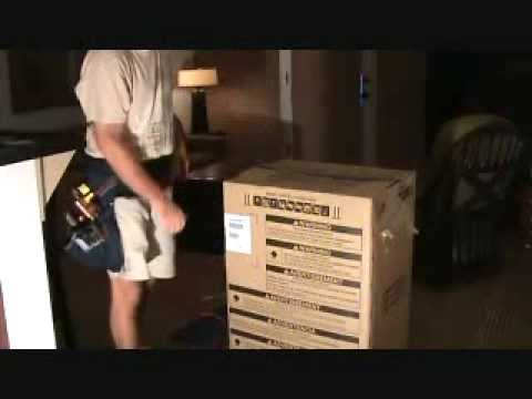 How to remove strapping tape from an appliance box: without using any cutters