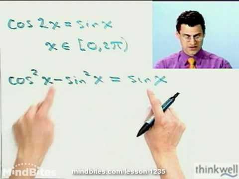Pre-Calculus: Using Double-Angle Identities