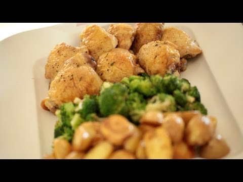 Sheet Pan Chicken Dinner Recipe (Make It) How To || Kin Eats || KIN EATS