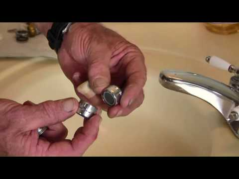 How to Replace a Sink Aerator