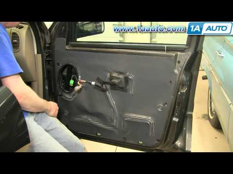 How To Install Replace Door Panel Ford Explorer Sport Trac 01-05 1AAuto.com