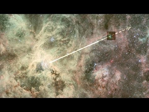 Science Bulletins: Star Bolts from Crowded Nebula